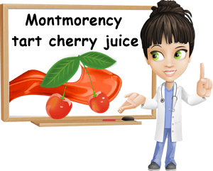 What is Montmorency tart cherry juice good for