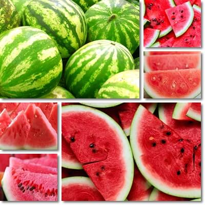 What makes watermelon red inside
