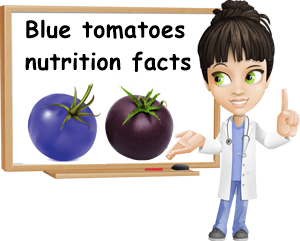 Blue tomatoes nutrition facts