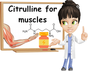 Citrulline for muscle growth