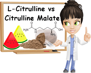 Citrulline vs citrulline malate difference