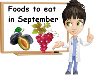 Foods to eat in September
