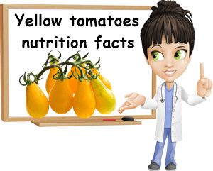 Yellow tomatoes nutrition