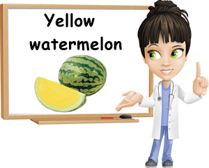 Yellow watermelon good for you