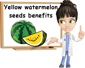Yellow watermelon seeds benefits