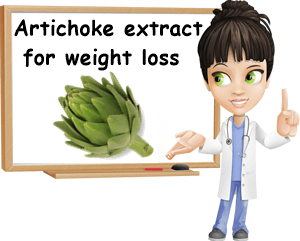 Artichoke extract for weight loss