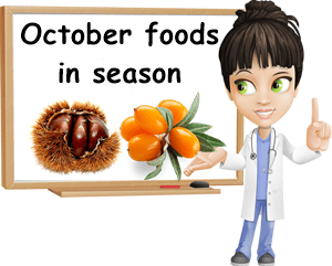 October foods in season