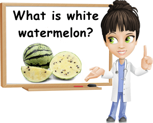 What is white watermelon