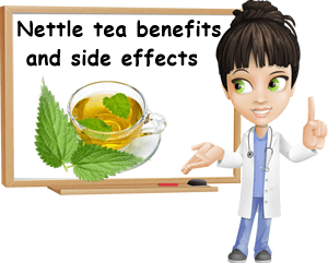 Nettle tea benefits and side effects