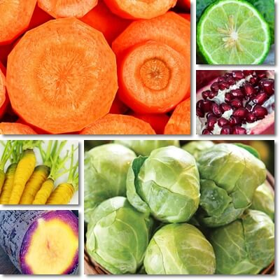 January fruits and vegetables