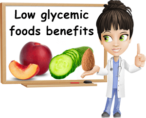 Low glycemic foods benefits