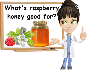 Raspberry honey benefits