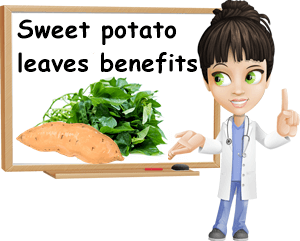 Sweet potato leaves benefits