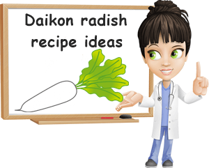 Daikon radish recipes ideas