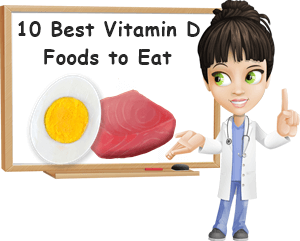 10 Vitamin D rich foods