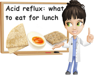 Acid reflux what to eat for lunch