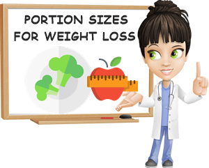 Portion sizes for weight loss