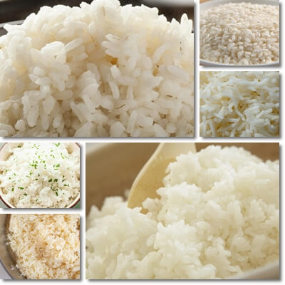 Benefits of eating white rice
