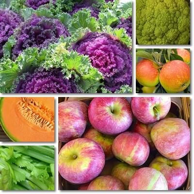 May fruits and vegetables