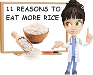 Reasons to eat rice