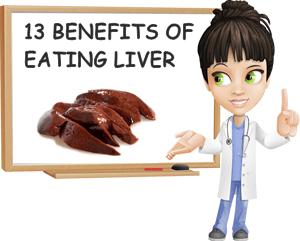 Benefits of eating liver
