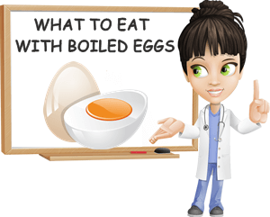 What to eat with boiled eggs