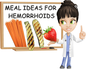 Meal ideas for hemorrhoids