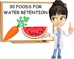 What to eat for water retention