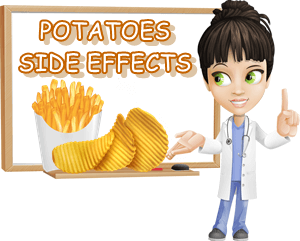 Side effects of potatoes